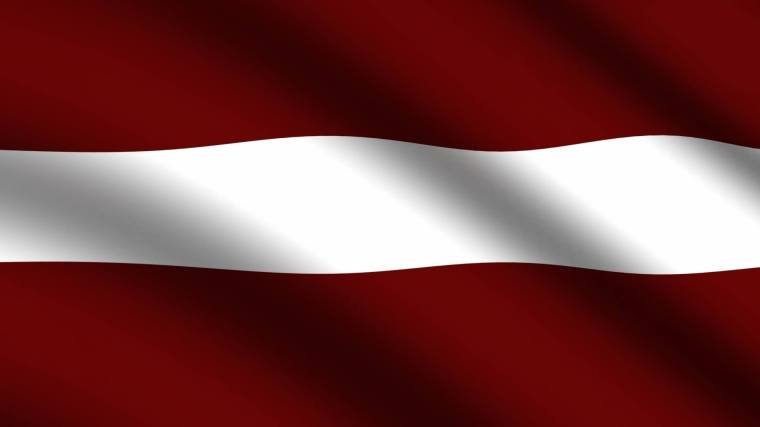 latvian flag event